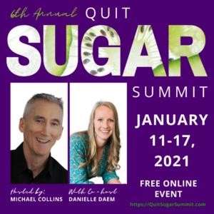 Poster Quit Sugar Summit 2021