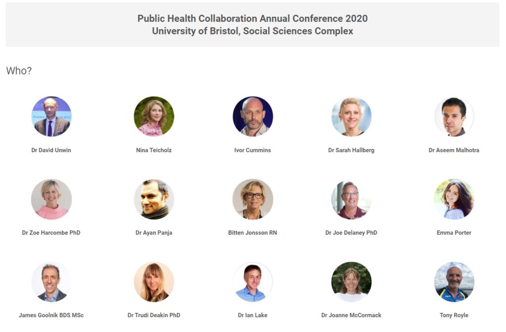 Public health collaboration talare